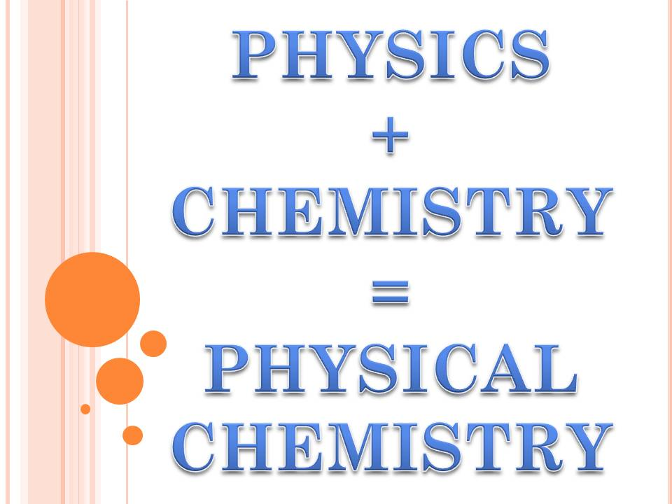 Physical Chemistry Experiments (15UCH545)
